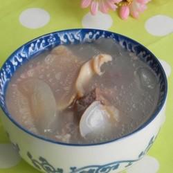 粉葛螺肉海底椰猪骨汤