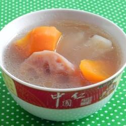 沙葛莲藕猪骨汤
