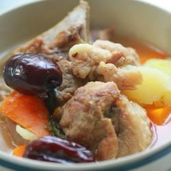 红枣猪骨汤