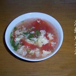 海鲜鸡蛋汤