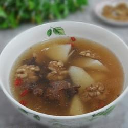 山药核桃猪骨汤