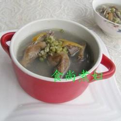 绿豆陈皮鸽子汤