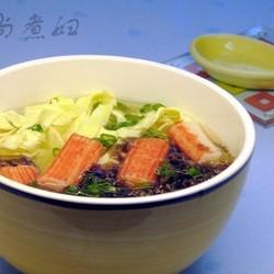蟹柳鸡蛋汤