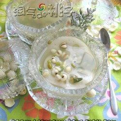 芙蓉绿豆汤