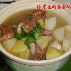山药土豆骨头汤