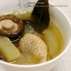 冬瓜香菇鸡汤