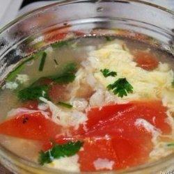 家常番茄鸡蛋汤