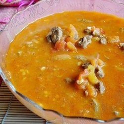蕃茄猪肝浓汤