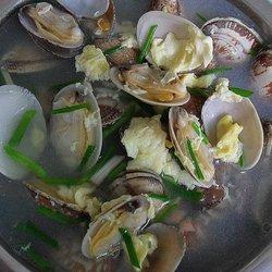 花蛤鸡蛋汤