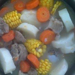淮山玉米骨头汤