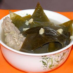 干贝海带排骨汤