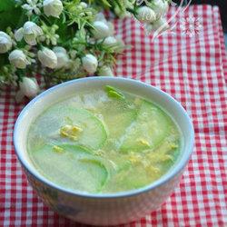 西葫芦鸡蛋汤