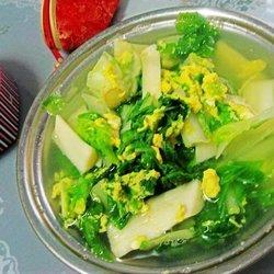 青菜鸡蛋汤