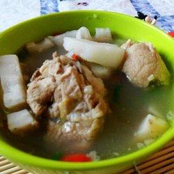 莲藕山药猪骨汤