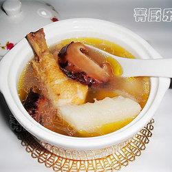 花菇山药煲鸡汤