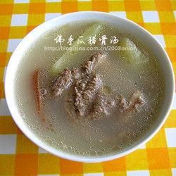佛手瓜猪骨汤