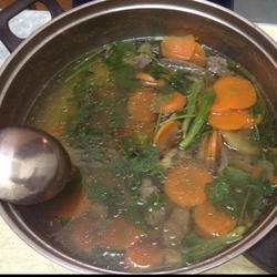 胡萝卜猪肝汤