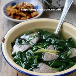 枸杞菜猪肝汤