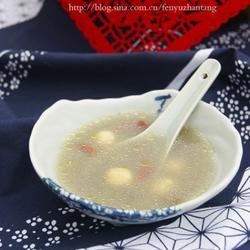 绿豆莲子鸽子汤