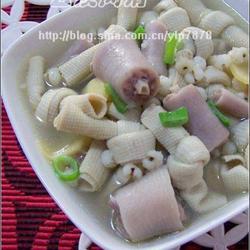 薏仁百叶猪尾汤