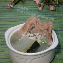薏米冬瓜煲鸭汤
