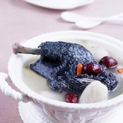 竹荪乌鸡汤