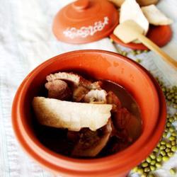 土茯苓绿豆老鸭汤