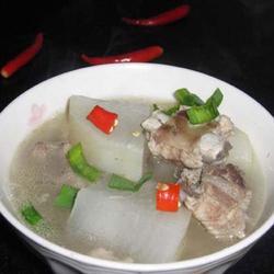 清炖排骨萝卜汤