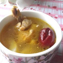 春笋红枣煲鸡汤