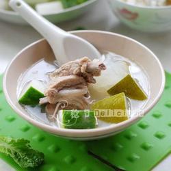 带皮冬瓜排骨汤