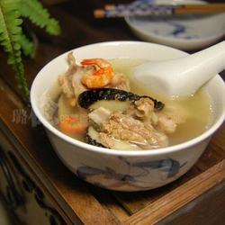 鸭肉鲍鱼干汤