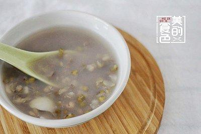 消夏绿豆汤