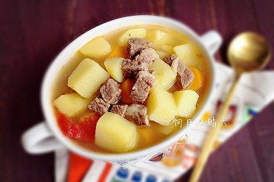 十分开胃的牛肉酸汤
