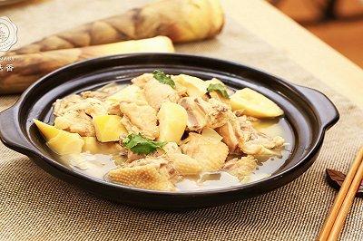 春笋煲鸡汤
