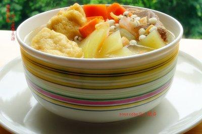 西瓜皮骨头汤