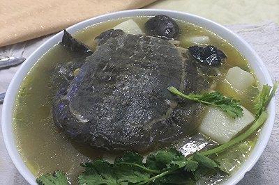 乌鸡甲鱼汤