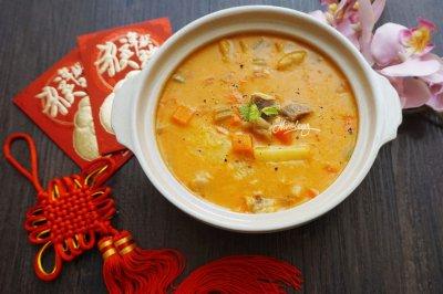 传统味道的罗宋汤