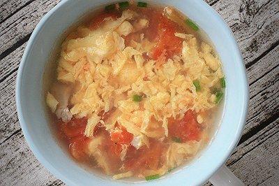 豪华版西红柿鸡蛋汤