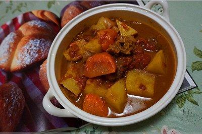 番茄牛肉蔬菜汤