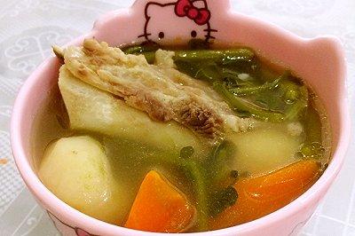 广东冬季靓汤:西洋菜