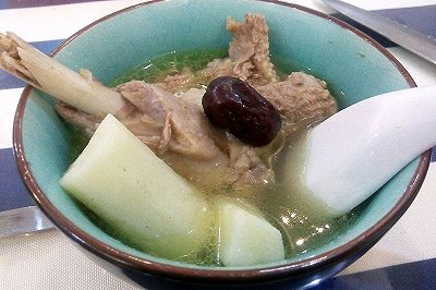 薏米淮山老鸭汤