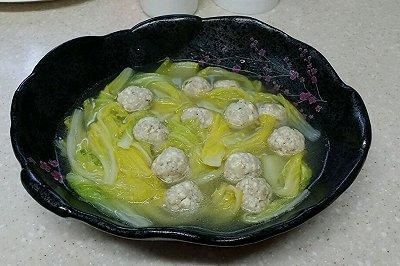 白菜豆腐丸子