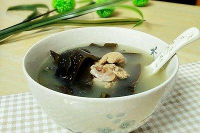 海带黄豆猪骨汤