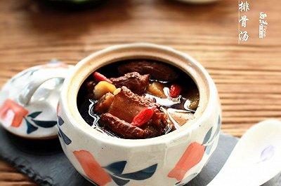 罗汉果山药排骨汤