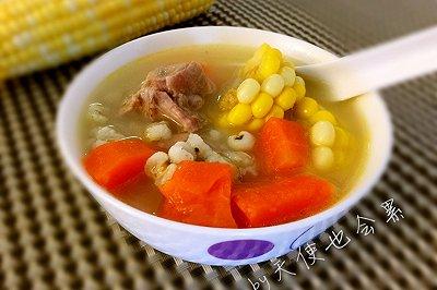 玉米薏米胡萝卜骨头汤