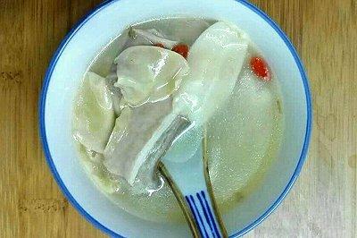 猪肚包花胶汤(附猪肚
