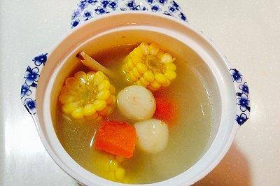 玉米马蹄胡萝卜骨头汤