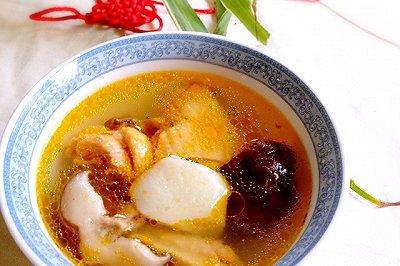 香菇山药鸡汤