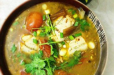 鲜嫩酸汤豆腐鱼