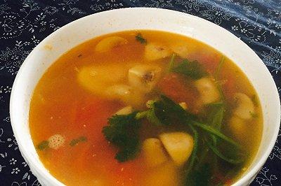 番茄蘑菇鸡蛋汤